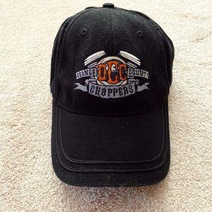 Black Orange County Choppers motorcycle hat